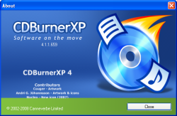 CD XP ISO Burner