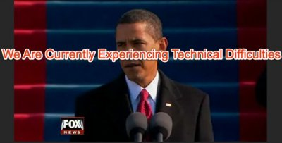 Inauguration technical difficulties