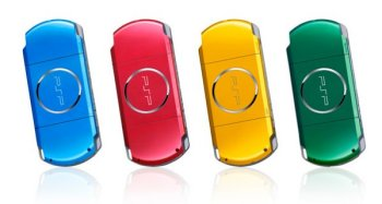 PSP in new colors