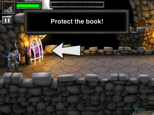 Army of Darkness iPad Game Save The Book Screenshot